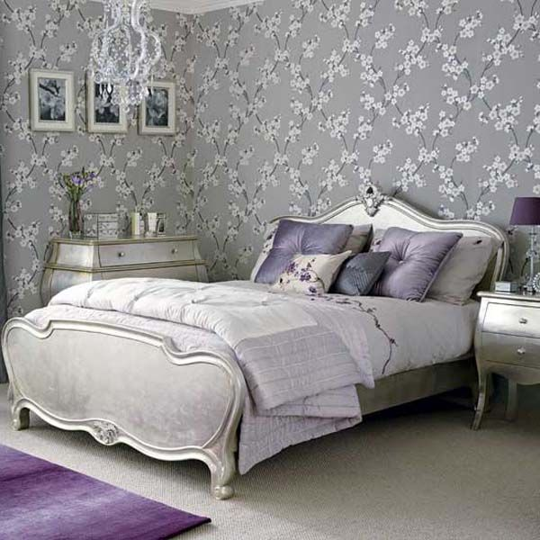 Silver bedroom ideas and designs someday pinterest for Bedroom ideas silver