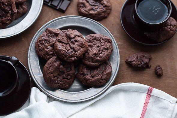 Double Chocolate Chunk Cookies (Gluten Free and Grain Free) | Recipe