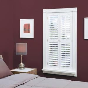 ... Interior Shutter (Price Varies by Size) - QSPA3554 at The Home Depot