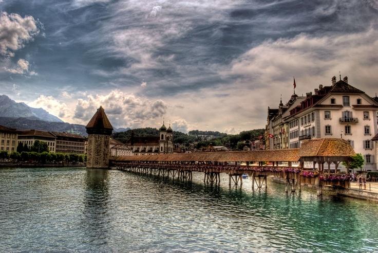 """""""Luzern"""" by Forastico de Forasticis, via 500px."""