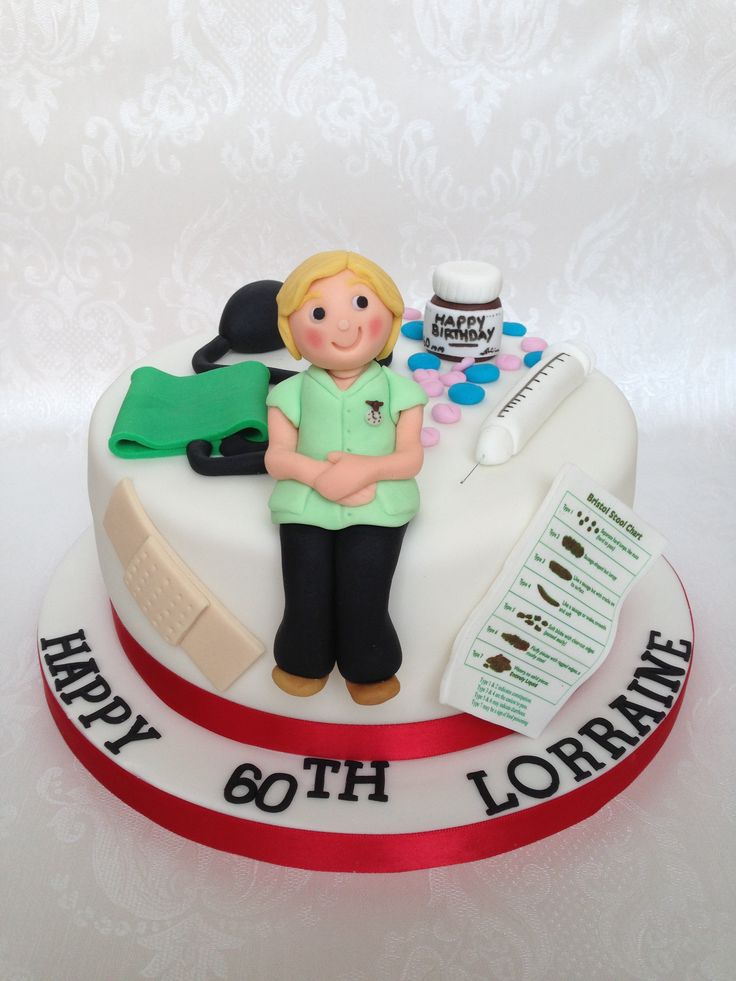 Birthday Cake Images For A Nurse Dmost for