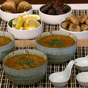 Moroccan Harira Red Lentil Soup | Recipes | Pinterest