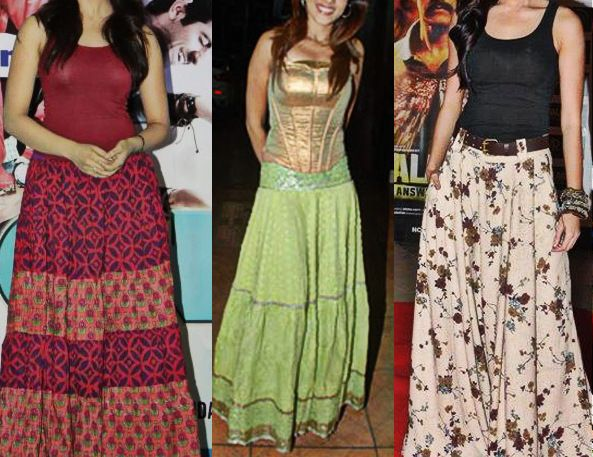 Indian Blouse And Skirt 37