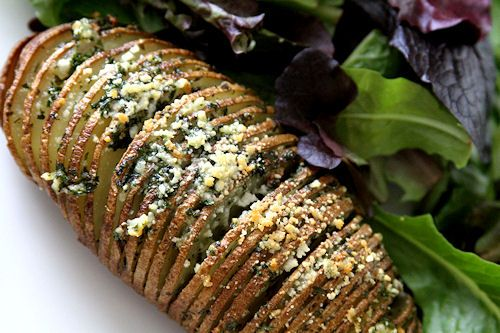 another version of Hasselback Potatoes...one day I will get around to making these