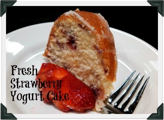 Fresh Strawberry Yogurt Cake | Recipes | Pinterest