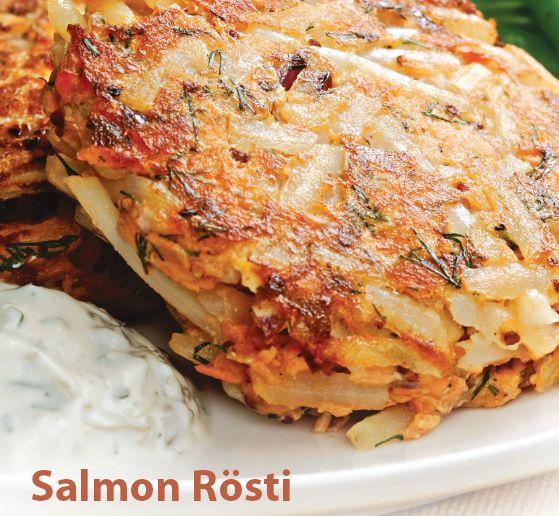 Salmon Rosti recipe   Healthy Eats and Recipes   Pinterest