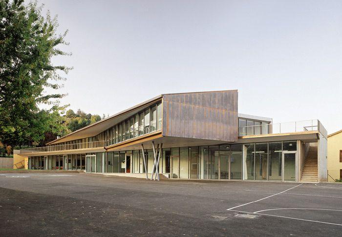 architecture ecole primaire lozanne metal pinterest