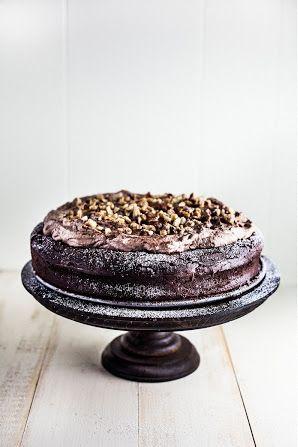 flourless chocolate and hazelnut cake   Cakes   Pinterest