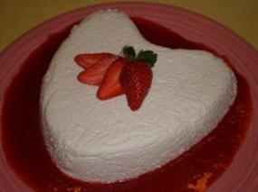 Coeur a la Creme with Fresh Strawberries | CREAMmy AND BUTTERry | Pin ...