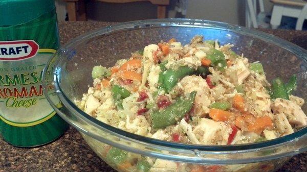 Italian Quinoa, Chicken and Roasted Veggie Salad | Recipe