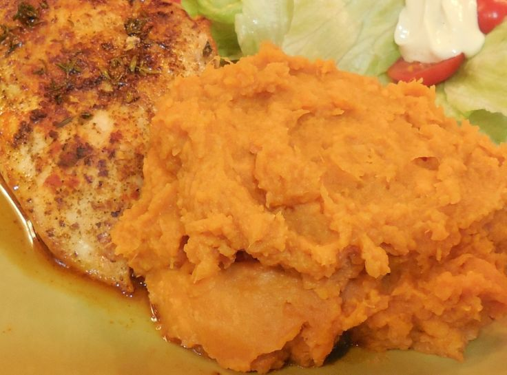 Bourbon Mashed Sweet Potatoes | Rounding Out The Meal - Sides & Veget ...