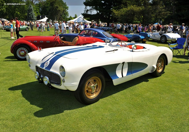 "1956 Sebring Corvette Racer - ""The Real McCoy"""