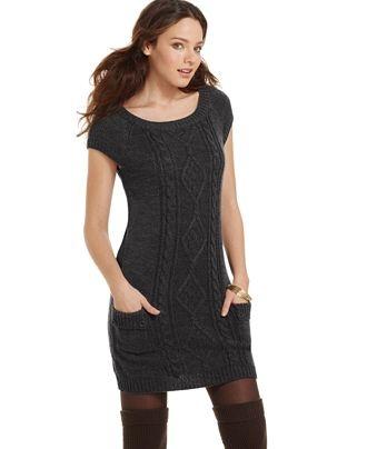 Glimmer By Jj Basics Sweater Dress 100