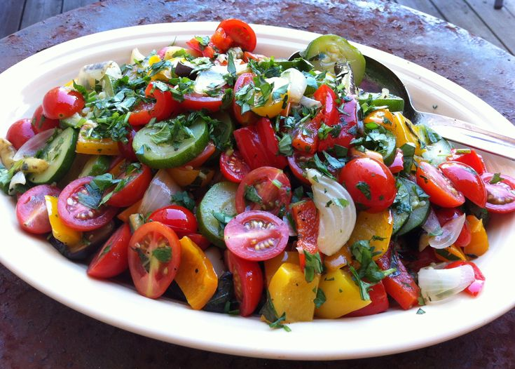 Quick Rustic Ratatouille | My Food | Pinterest