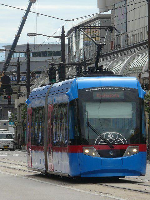Takaoka Japan  city pictures gallery : Doraemon Tram in Takaoka, Toyama, Japan | Doraemon | Pinterest