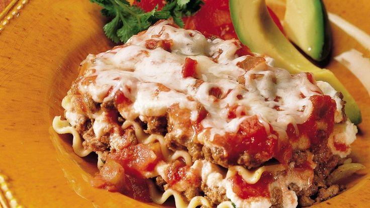 Tex-Mex Salsa Lasagna | Recipes - Mexican | Pinterest