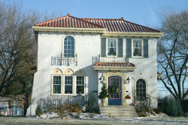 Pin by dana stenson on new stucco house ideas pinterest - Spanish style homes exterior ...