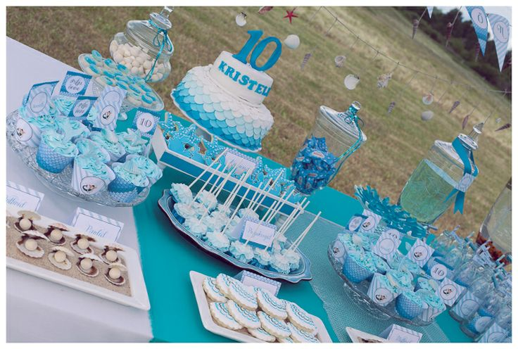 Mermaid birthday for 10 year old girl  Kids Party  Pinterest