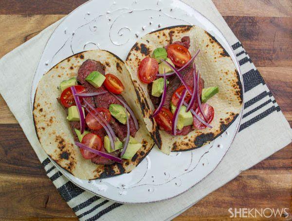 Grilled steak tacos | Eye Of The Tiger | Pinterest