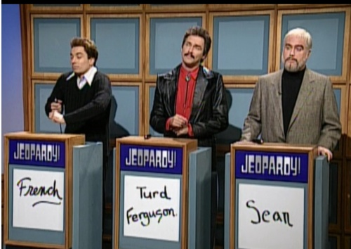 Celebrity Jeopardy!: Sean Connery, Burt Reynolds, Jerry ...
