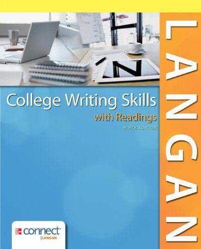 langan college writing skills