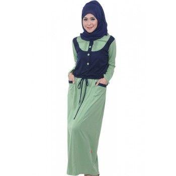 Gamis Masa Kini Baju Muslim Wanita Pinterest