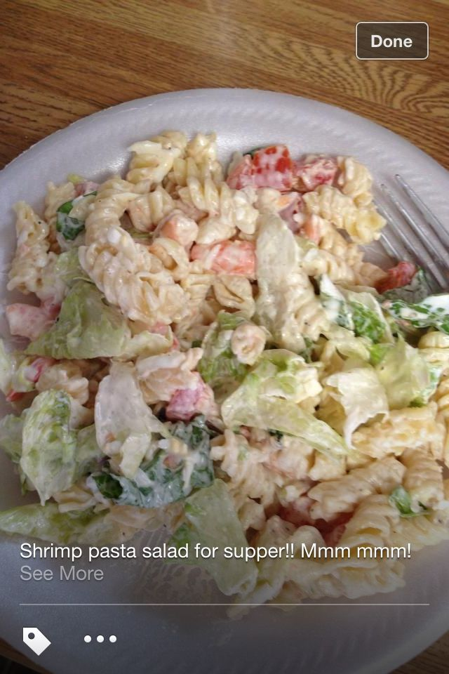 Shrimp pasta salad | Food & Drinks worth trying | Pinterest