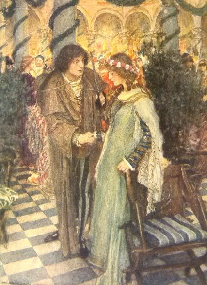 Romeo and Juliet by William Hatherell