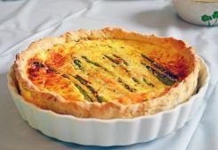 Asparagus Quiche - I COOK GLUTEN FREE | Gluten Free | Pinterest