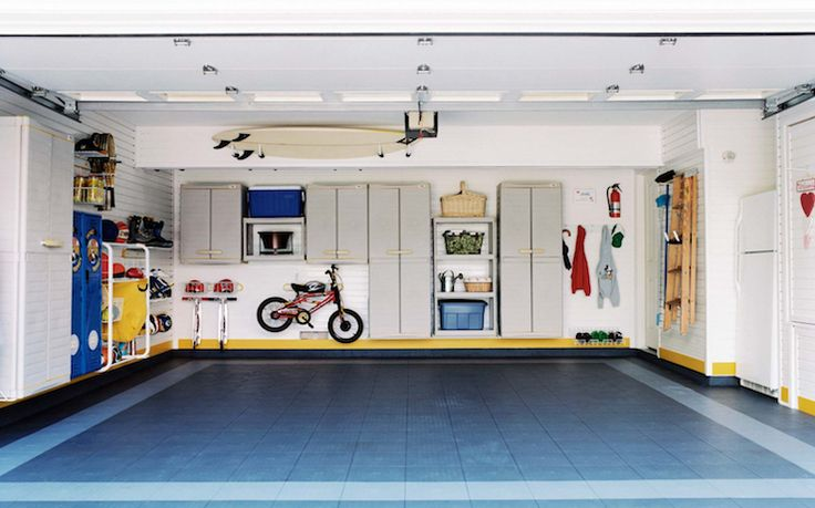 Pin by roxanne berthelotte on garage designs pinterest for How to clean garage floor