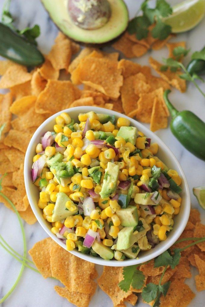 Avocado Corn Salsa | Recipe