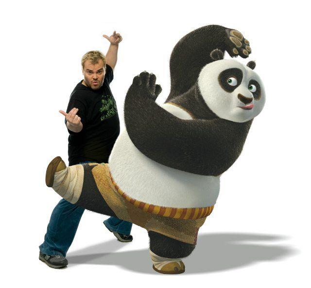 Still of Jack Black in Kung Fu Panda