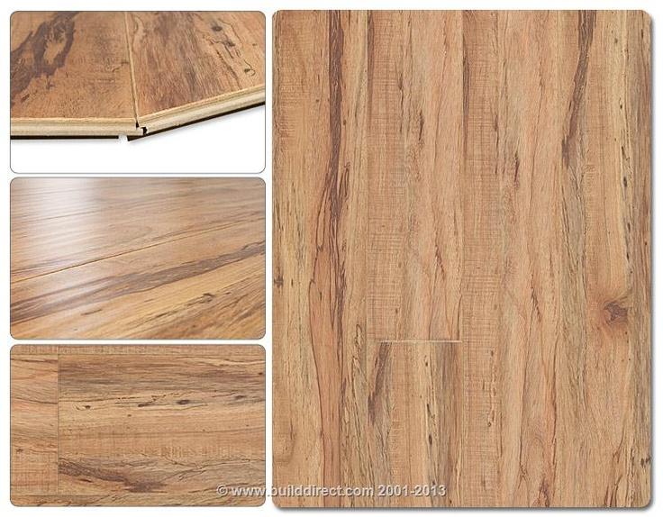 Builddirect lamton laminate 12 mm beveled edge for Beveled laminate flooring