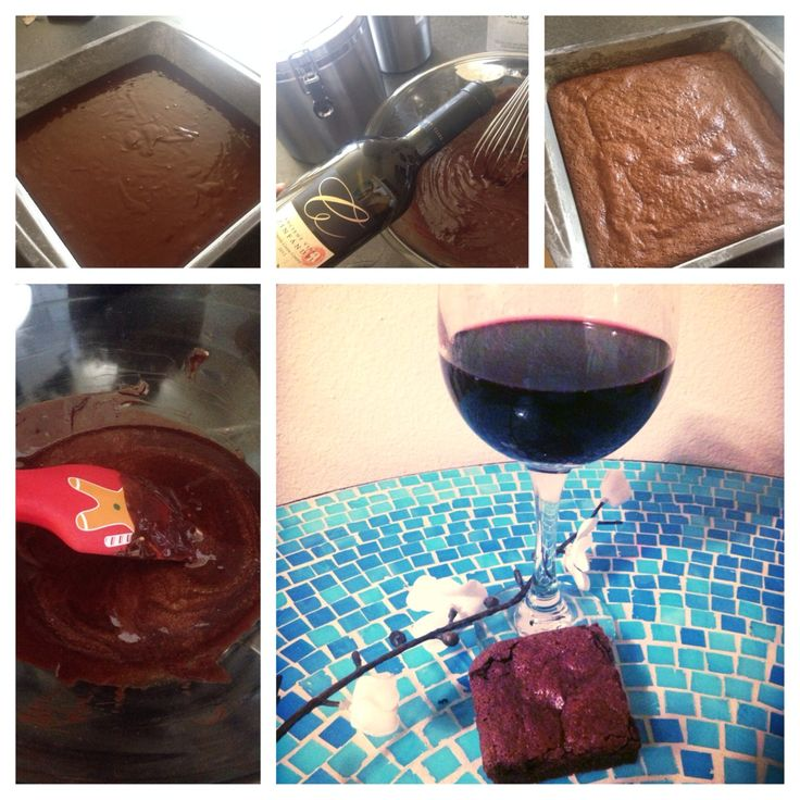 Red Wine Brownies | Foraging Fare | Pinterest