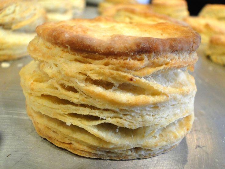 Flaky NotOutOfACan Biscuits.   food :)   Pinterest