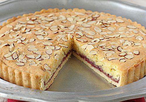 The Galley Gourmet: Italian Almond Raspberry Tart