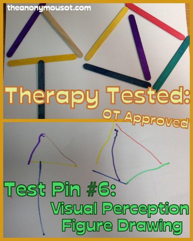Visual perception  visual closure  form constancy  discriminationVisual Perception Test