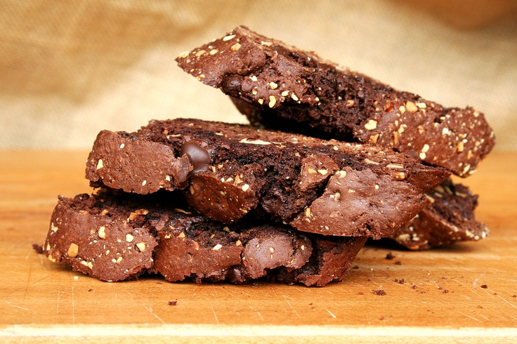 Chocolate Biscotti  by Alexandra's Kitchen