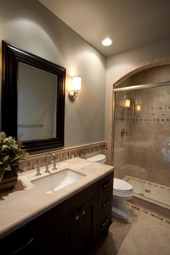 Modern Small Guest Bathroom Ideas : Guest bathroom contemporary home stuff
