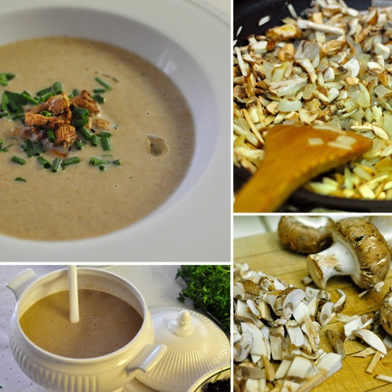 Cream of Mushroom Soup Adapted from Anthony Bourdain's Les Halles ...