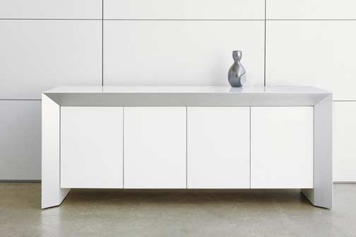 White Credenza Office Style Pinterest