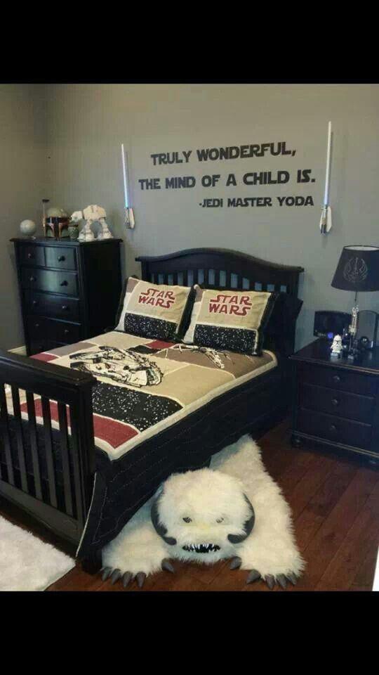 Comstar Wars Kids Rooms : Star Wars kids bedroom  Someday  Pinterest