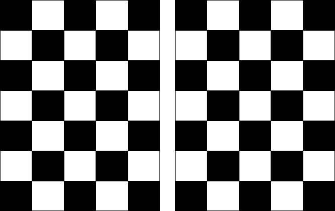 Slobbery image with checkered flag printable