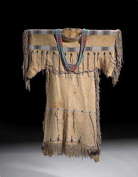 Native American Women Clothing | Lot 399