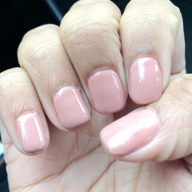 Gel manicure- OPI Something Barcelona | beauty: nails | Pinterest