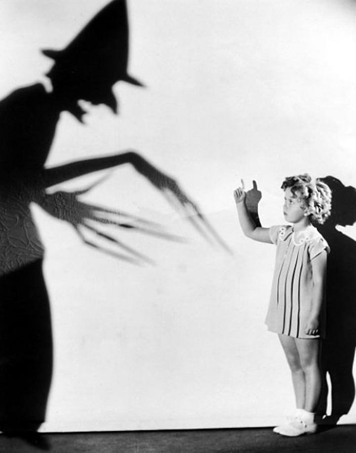 vintage halloween publicity shot