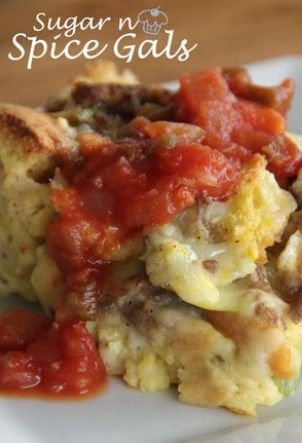 Make-Over Breakfast Sausage And Mushroom Strata Recipes — Dishmaps