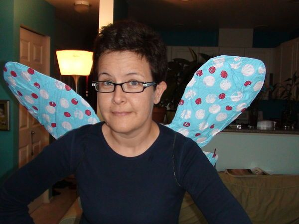 How to Make Wearable Wings: Your imagination can soar! Bird, butterfly, bat, or dragonfly...or your own design. Goth them out, pretty them up, and wear the heck out of them this Halloween!