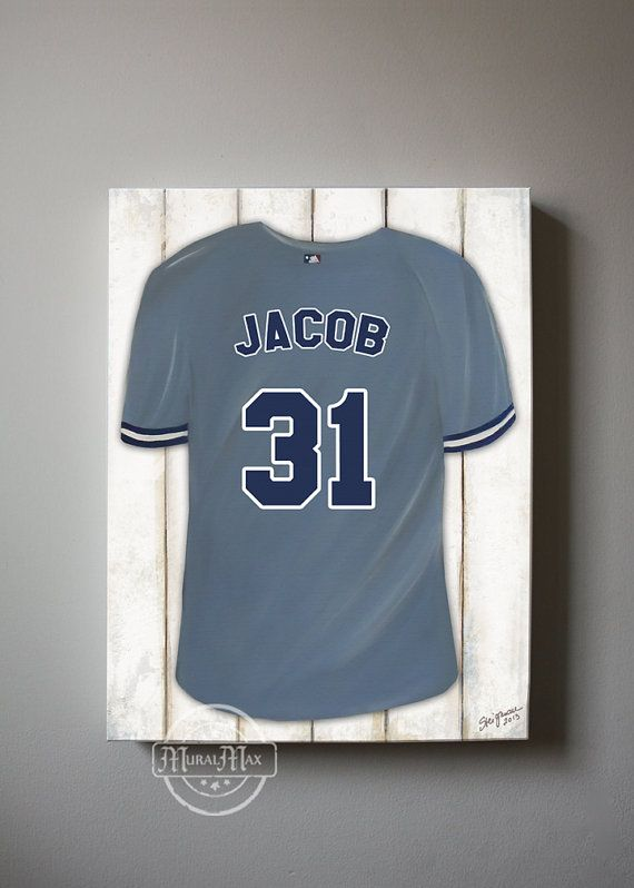 sports room decor baseball new york yankees personalized jersey canv sports room decor baseball new york yankees personalized jersey canv download - New York Yankees Bedroom Decor