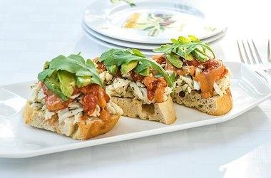 Earth Crab Toast — Punchfork   Foodie   Pinterest